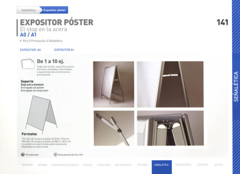 Expositor Póster